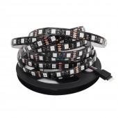 Black PCB 5050 LED Strip,DC12V,60LED/m,5m 300LED,IP20/IP65/IP67 Waterproof,RGB,White,Warm White,Red,Green,Blue