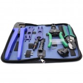 1 Set Multifunctional Solar MC-4 Tool Set With Cable Stripping Tool Wire Cutter MC-4 Connector And Spanner