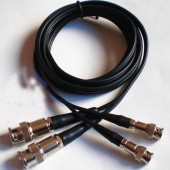 Cable For Ultrasonic Flaw Detector C9-C5 C6-C6 Q9-C5 C6-C9 C6-Q9 Q9-Q6 C9-Q9 For Ultrasonic