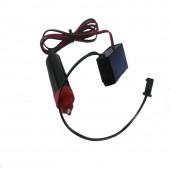 12V Inverter Cigarette Driver Car Vehicles Accessories For 1m 3m 5m Flexible Led Glow EL Wire EL Tape