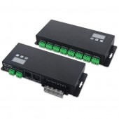24CH 5-24V DMX512 Decoder for Lighting Show Project with Address Display