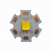 Cree XHP50 XHP50.2 6V 12V 6500K Cool White 5000K Neutral White 3000K Warm White LED Emitter 2546lm 19W on 16mm 20mm Copper PCB