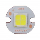 CREE XHP70 XHP 70 Cool White Neutral White Warm White High Power LED Emitter 30W 6V Or 12V Doide on 16mm 20mm Copper PCB
