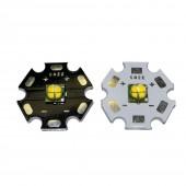 2Pcs CREE XM-L EasyWhite 4 chips led 12w XML-EZW 6V/12V U2 Warm White LED with 16MM/20mm Heatsink for spot light/Bulb/Lamp
