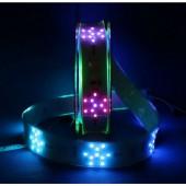DC 24V TM1809 RGB Led Neon Pixel Rope Snowflake Full Color Strip Lights 1m 2m 80leds/m 8pixels/m waterproof IP67 Tube 40mm PCB