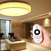 DC12-24V,2.4G 4 Zonepress Button/Touch Dimmimg/CT/RGB/RGBW LED Controller RF Wireless Remote Dimmer For 5050 3528 LED Strip