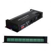 DC12-24V 30 Channel RGB DMX512 Decoder Led Strip 30CH*2A Dmx Dimmer PWM Driver DMX512 Decoder Light Controller