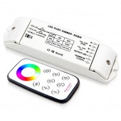 12-24V 4 Channels DIP Switch Wireless RGBW LED Controller