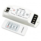12-24V 8A/CH 3Channels LED Dimmer Controller W/ RF Remote Control