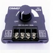 DC12-24V 30A LED Dimmer Knob Brightness Adjustment Controller