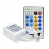 2Pcs 12-24V 72-144W Brightness Adjustable IR LED Dimmer Controller