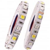 DC 12V 24V SMD 5050 RGB+CCT LED Strip Light RGBW RGBWW RGB WWA Flexible Led Stripe Rope Tape Decorative Lights 5M