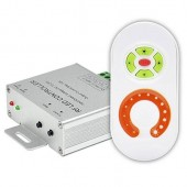 12V 24V 240W 10A Touch Remote Aluminum RF LED Dimmer
