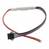 SP002E DC5-24V Mini 3 Key WS2811 WS2812 LED Strip Controller Dimmer