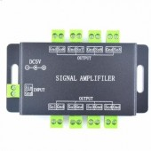 DC 5V Music Signal Amplifier 5050 RGB WS2812B WS2811 SK6812 Repeater