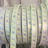 Waterproof Led Strip 220V 2835 SMD 180Leds/m Three Row Flexible Tape Light