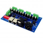 12CH Easy DMX512 Controller Decoder WS-DMX-12CH 4 Groups 12-24V