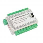 24CH Controller RGB LED DMX 512 Decoder Module Dump Node 24A 5~24V WS-DMX-24CH