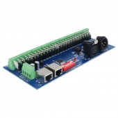 27CH Easy DMX512 Decoder 27 Channel DMX Controller LED Drive 9 Groups
