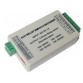 3CH DMX512 Controller 3 Channel RELAY OUTPUT Decoder Switch WS-DMX-RELAY-3CH