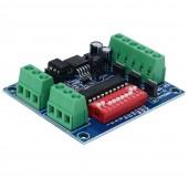 3CH Easy DMX Dimmer Controller 3 Channel RGB LED DMX512 Decoder