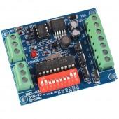 4CH RGBW Easy DMX 512 Decoder Dimmer Controller WS-DMX-4CH-BAN-V3