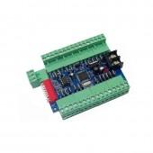 24CH Channel 8 Group LED DMX512 Decoder WS-DMX-24CH-BAN