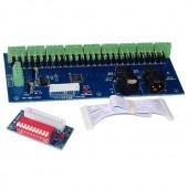 WS-DMX-27CH-DIPC Dimmer DC12V-24V 1A*27CH LED Decoder LED Controller for Lights