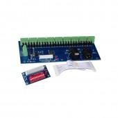 WS-DMX-27CH-DIPZ Dimmer DC12V-24V 1A*27CH Decoder LED Controller for LED Lamp Lights