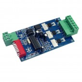 3CH Easy DMX LED Controller Dmx Decoder WS-DMX-2KEY-3CH-BAN