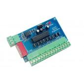 WS-DMX-9CH-BAN Easy 9 Channel DMX512 RGB Controller 3groups Decoder