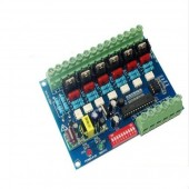 6 Channel WS-DMX-HVDIM-6CH DMX512 Silicon Controlled Dimming Switch Board