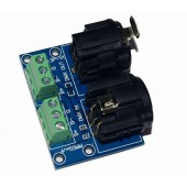 XLR3-3P DMX512 Relays Connector 3pin Terminal Adapter XLR DMX Controller