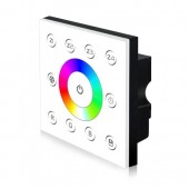 86 Type DMX512 RGB Light Group Division Controller with Touch Panel 4 Zones