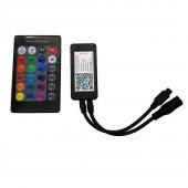 EWelink Smart Wifi LED Controller 24 Keys Remote DC5V-24V Adapter With APP Alexa TMALL GENIE For 3528 5050 RGB LED Strip Light