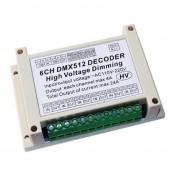 WS-DMX-DMXHV-6CH-KE 6 Channel DMX512 Dimming Control Silicon Box Board