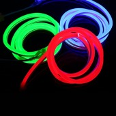 Flex LED Neon light 220V-240V 120LED/M 2835 IP67 Waterproof Led neon Rope Outdoor Decorative Tape 5M
