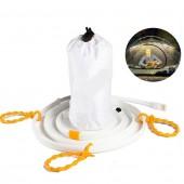 Flexible White Light Portable 1.5 Waterproof USB SMD 5050 LED Strip Light Lantern Lamp For Camping Hiking DC 5V