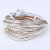 Led Strip 220V 3014 SMD 120Leds/m Waterproof Flexible Tape Light Warm White 1m 5m 10m Power Plug