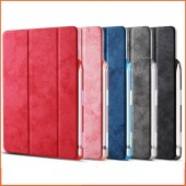For iPad Pro 10.5 Case with Pencil Holder for iPad Air 3 Case 2019 Cover PU Leather Soft Back Funda Coque for iPad Air 2019 Case