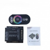 DC 12-24V RGB Touch LED Sync Controller RF Touch Remote RGB Remote Controller For RGB LED Strips