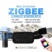 Zigbee Controller Mini Smart TV LED Strip 5V Usb RGB+CCT Light Kit