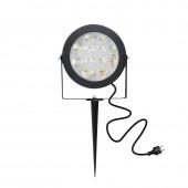 ZIGBEE Light Link LED Garden Lamp Outdoor Light 12W RGB CCT Warm White AC110-240V Work With Amazon Alexa Echo ZIGBEE3.0