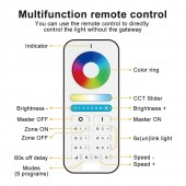 GLEDOPTO Zigbee Smart RGB+CCT LED Controller Plus Working With Echo Plus Zigbee 3.0 Gateway Or Remote Control APP Phone Control