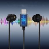 Earphone Type-c Type C Headphones Children Kids Student for Xiaomi Huawei Macbook Soft Sleep Headphones with Microphone