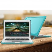 Laptop Case for MacBook Air 11 12 13 Pro 13 15 New Air 13 A1932 15.4 Case Shockproof Cover TPU + PC Bumper with Stand