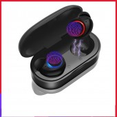 Waterproof TWS V5.0 Mini Wireless Headphones Touch Control Bluetooth Earphone Bluetooth Earbuds with Dual Microphone