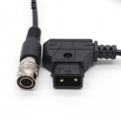 Sound Devices 688 633 Zoom F8 Power Cable DTAP To Hirose 4 Pin Male Plug For ZAXCOM