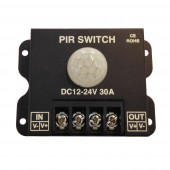 30A PIR Sensor Switch Human body Infrared Motion Sensor LED Strip Dimmer Switch DC 12V 24V Panel light Controller Switch