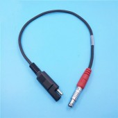 Topcon Power Cable for Hiper / Legacy / GB / PLUS GR-3 GR-3 to SAE 2-pin connector A00302 for Topcon GPS Hiper